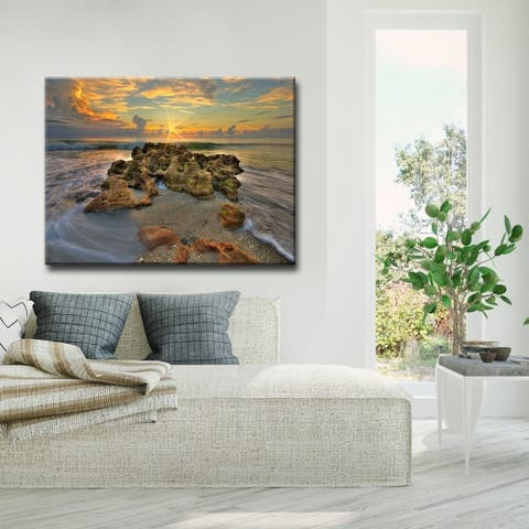 Ready2HangArt 'Spellbound' Coastal Canvas Wall Art