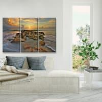 Ready2HangArt 'Spellbound' Oversized 3-Piece Canvas Wall Decor Set - Multi-color