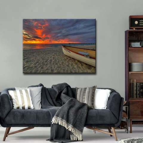 Ready2HangArt 'Tide's Love' Coastal Canvas Wall Art