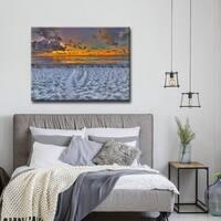 Ready2HangArt 'On the Horizon' Canvas Wall Decor - Multi-color