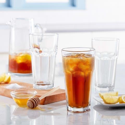 Libbey Gibraltar Iced Tea Glasses, Set of 12