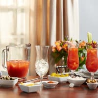 Libbey Modern Bar 5-piece Bloody Mary Glass Entertainment Set