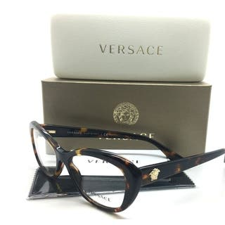 Versace Tortoise Eyeglasses Havana Gold|https://ak1.ostkcdn.com/images/products/18591020/P24691948.jpg?impolicy=medium