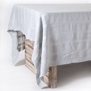 "Gracie - Ocean - Large Tablecloth (69"" X 128"")"