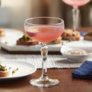 Libbey Capone 4-piece Coupe Cocktail Glass Set