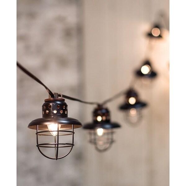 Black Lantern String Lights