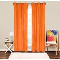 Crayola Crinkled Blackout Grommet Curtain Panel
