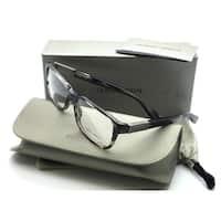 Giorgio Armani Striped Brown Eyeglasses