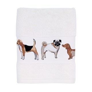 Dogs On Parade Hand Towel