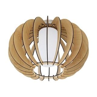 Eglo Lighting Stellato Ceiling Light with Maple Wood Finish