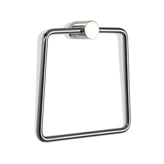 Waldorf Stainless Steel Towel Ring - N/A