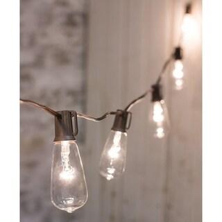 Clear Edison String Lights