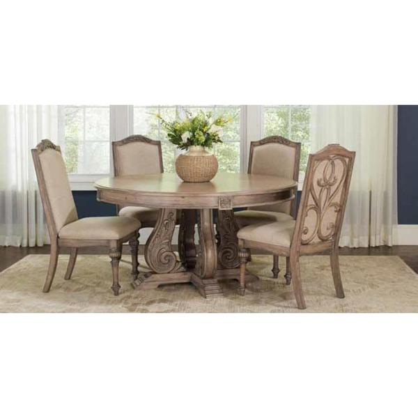 Westchester 5-piece Round Table Dining Set