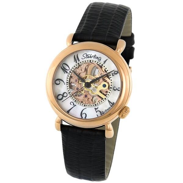 Stuhrling Original Lady Wall Street Skeleton Watch