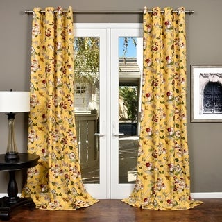 Link to Lambrequin Ella Cotton Curtain Panel Similar Items in Curtains & Drapes