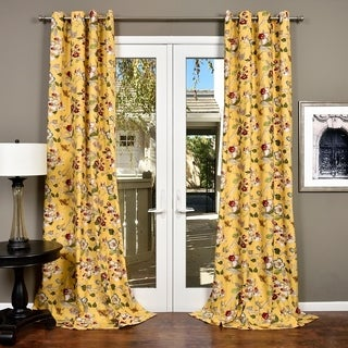 Lambrequin Ella Cotton Curtain Panel (2 options available)