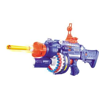 Rapid Rotating Barrel Attack Blaster with 40 Suction Tipped Foam Darts by Dimple