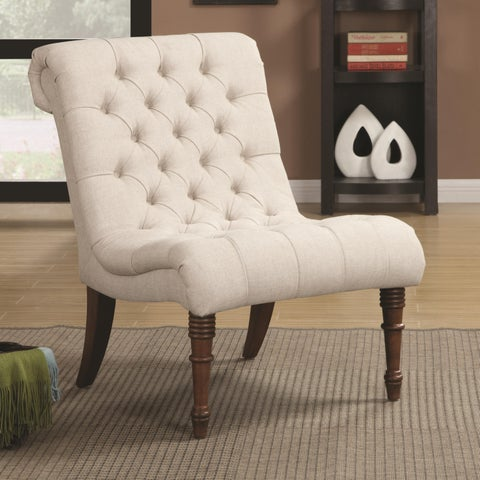 The Gray Barn Tasia Linen Upholstered Accent Chair