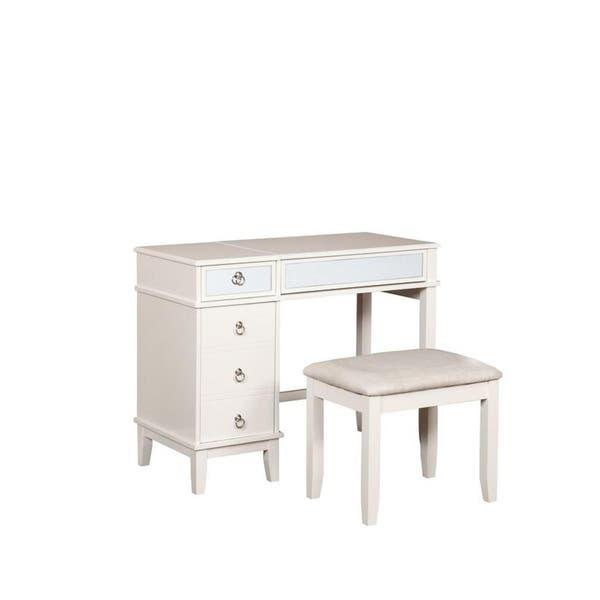 Prime Shop Karlie Vanity Set On Sale Free Shipping Today Creativecarmelina Interior Chair Design Creativecarmelinacom