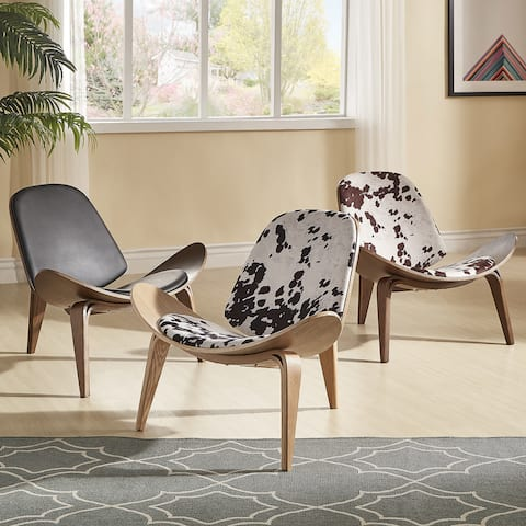 Buy Faux Leather, Animal Print Living Room Chairs Online at ...