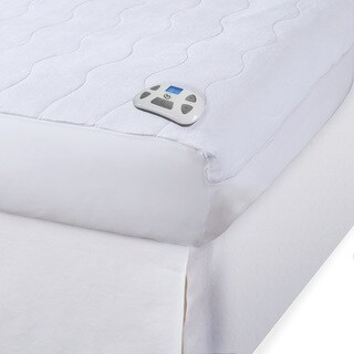 Serta Electric Microplush Heated Mattress Pad with New Digital Controller