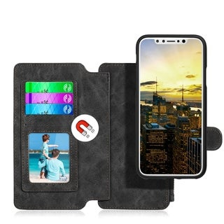 Apple Iphone X Luxury Coach Series Flip Wallet Case (3 options available)
