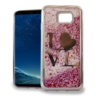 XL Samsung Galaxy S8 Plus Chrome Glitter Motion Case