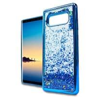 Samsung Note 8 N950 Chrome Glitter Motion Case