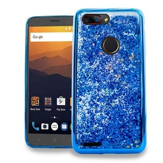XL ZTE Blade Z MAX Z982 Chrome Glitter Motion Case