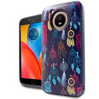 Motorola Moto E4 Brushed 3D Case Cover (Option: Beige)