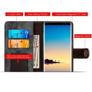 Samsung Galaxy Note 8 Luxury Coach Lite Series Flip Wallet Case