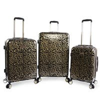 BEBE Annabelle 3-piece Hardside Spinner Luggage Set