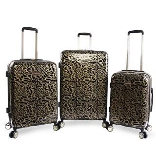 BEBE Annabelle 3-piece Hardside Spinner Luggage Set