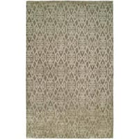 Gramercy Medium/Brown Hand-Knotted Area Rug - 2' x 3'