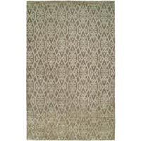 Gramercy Medium/Brown Wool Hand-knotted Area Rug (8' x 10') - 8' x 10'