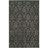Gramercy Pewter Hand-Knotted Area Rug - 2' x 3'