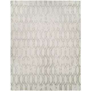 Gramercy Platinum Hand-knotted Area Rug (4' x 6')