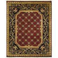 Le Palais Multicolor Wool Hand-knotted Area Rug (9' x 12')