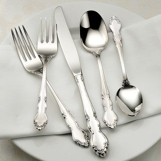 Oneida Dover Fine Stainless Steel 20-Pc Flatware Set Service for 4