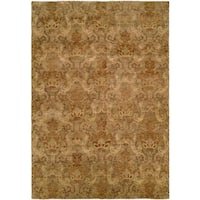 Royal Manner Derbyshire Wool Hand-knotted Area Rug (6' x 9') - 6' x 9'