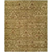 Royal Manner Derbyshire/Multi Wool Hand-knotted Area Rug - 4' x 6'