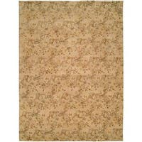 Royal Manner Estates Sandy Wool Hand-knotted Area Rug (8' x 10') - 8' x 10'