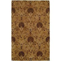Terrazzo Gold Hand-tufted Area Rug (8'0 x 10'0)