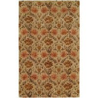 Terrazzo Sand Wool Hand-tufted Area Rug - 6' x 9'