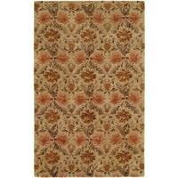 Terrazzo Sand Wool Hand-tufted Area Rug (9' x 12')