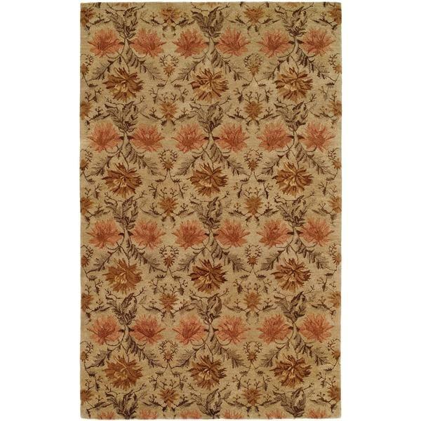 "Terrazzo Sand Wool Hand-tufted Area Rug (9'6 x 13'6) - 9'6"" x 13'6"""