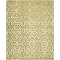 Valencia Gold Wool Hand-tufted Area Rug (10' x 14')