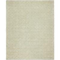 Valencia Teal Viscose/Wool Hand-tufted Area Rug (9' X 12') - 9' x 12'