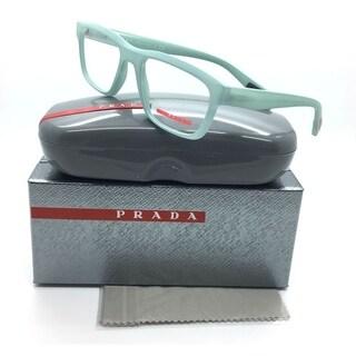 Prada Sport Green Eyeglasses Light Gr Rubber Linea Rossa