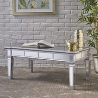 Solanna Rectangle Mirror Coffee Table by Christopher Knight Home
